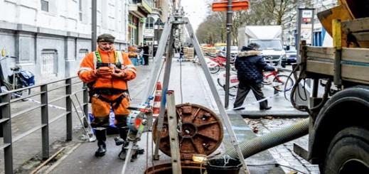 سرقة بنك في أنتويرب عبر مجاري المياه حيرت بلجيكا…. مالك المنزل الذي إكترته العصابة: يهود من الشرق الأوسط