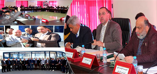 مجلس جماعة ميضار يعقد دورة فبراير بجدول أعمال حافل ويصادق على عدد من اتفاقيات الشراكة
