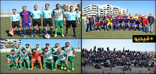 الفتح الناظوري يواصل نتائجه الإيجابية بالفوز على  نادي سطاد المغربي بهدف مقابل صفر
