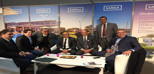 حضور وازن لافراد الجالية المغربية في اليوم الاول لصالون بروكسل للعطل
