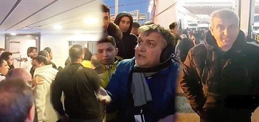 نقابة ناقلي بضائع الجالية تندد بإعتقال 6 من أعضائها إحتجوا على سوء خدمات باخرة سات
