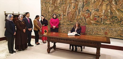 النائبتان الناظوريتان أحكيم ومراس ضمن وفد برلمانيات مغربيات يزور إسبانيا لتدارس سبل التعاون