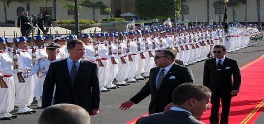 ملك إسبانيا في زيارة رسمية إلى المغرب..وهذا هو الوفد الهام المرافق له