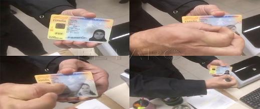 بالفيديو.. الشرطة تكشف عملية تزوير ذكية لبطاقة الإقامة الإسبانية قامت بها مواطنة مغربية
