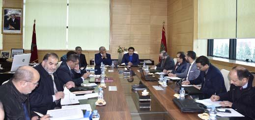 مسؤولو الشرق يجتمعون بلجنة القيادة الخاصة بمشروع بناء وتجهيز المنصة الجهوية لتثمين المنتجات المحلية