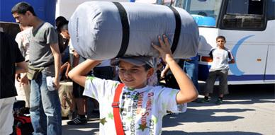 جمعية شباب الريف تخيم بـ100 طفل بتافوغالت