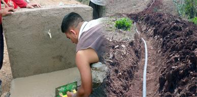 دوار اولاد الطالب علي يعرف مد شبكة الماء الشروب