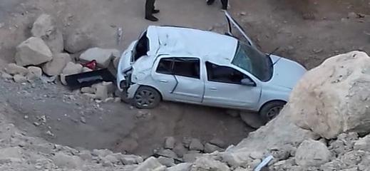 اصابة أربعة اشخاص بجروح اثر حادثة سير بين قاسيطة والحسيمة