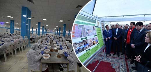رئيس جهة الشرق يدشن وحدة صناعية بجرادة ستشغل أزيد من 1500 شخص
