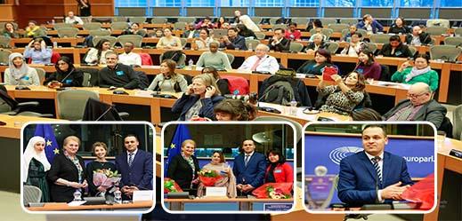 المنتدى الدولي للنساء الرائدات ينظم عرسا بهيجا بالبرلمان الأوروبي
