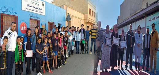 """جمعويون يكرمون أستاذات مؤسسة """"أبي فراس الحمداني"""" في مناسبة عيد المرأة الأممي بالناظور"""