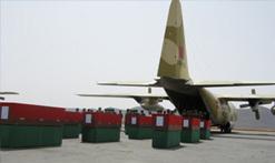 نقل جثامين ضحايا فاجعة كلميم عبر طائرات عسكرية