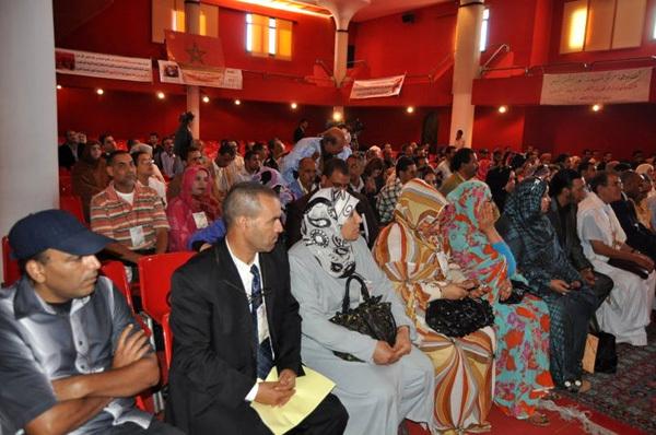 اختتام أشغال المؤتمر الوطني التأسيسي للحركة العالمية لدعم قضية الصحراء المغربية واستكمال الوحدة الترابية