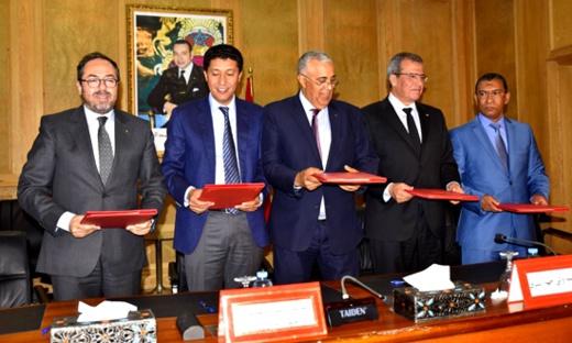 بعوي يوقع اتفاقية شراكة مع الخطوط الملكية لربط مطارات الناظور ووجدة وبوعرفة بمطار الدار البيضاء
