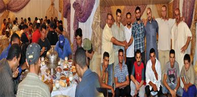 جمعيتي أسود الغد وشباب الخير تنظمان حفل إفطار جماعي طيلة شهر رمضان المبارك