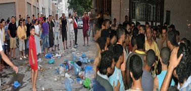 ساكنة الحي الإداري وحي جعدار تنتفض ضد تراكم الأزبال ولامبالاة الجهات المسؤولة