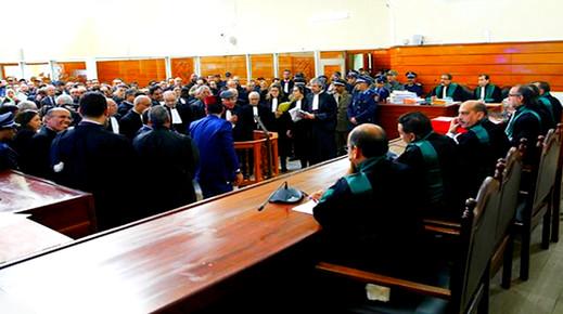 """بعد رفض 38 معتقلا الحضور إلى المحكمة .. ملف معتقلي """"حراك الريف"""" يدخل مراحله الأخيرة"""