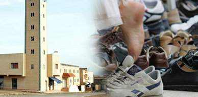 ظاهرة سرقة الأحذية تغزو مساجد مدينة زايو مع حلول شهر رمضان