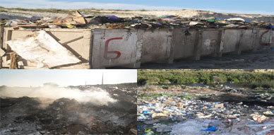 لعنة التلوث البيئي تجتاح واد ياو بالعروي