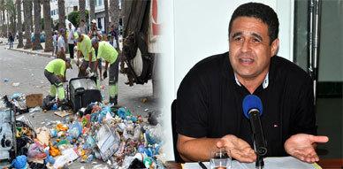 الحوار العقيم بين شركة فيوليا للنظافة وبلدية الناظور وراء إستمرار تراكم الأزبال بالمدينة والنواحي