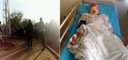 تلميذ بتماسينت بين الحياة و الموت بسبب صعقة كهربائية ونشطاء يطلقون نداء لإنقاذه