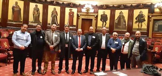 رئيس مجلس إقليم الدريوش والوفد المرافق له يزور البرلمان  الفيدرالي البلجيكي ويجتمع برئيس الفريق الاشتراكي