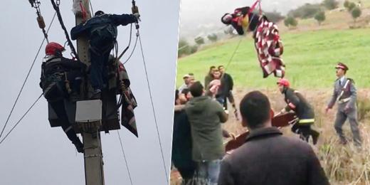 وفاة الشاب ضحية الصعقة الكهربائية ببن الطيب في طريقه للدار البيضاء