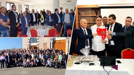 رئيس مجلس إقليم الدريوش يلتقي أعضاء جمعية عين عمار بأوروبا ويتفقان على إعداد برنامج تنموي