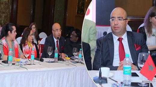 رئيس مجلس عمالة وجدة هشام الصغير من الهند: الأقاليم الجنوبية جنة الإستثمار بإفريقيا برعاية ملكية سامية