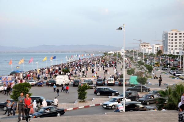 أجواء عيد الفطر المبارك بكورنيش الناظور