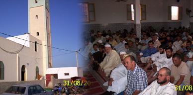 أجواء فرحة عيد الفطر بدوار الزاوية بجماعة بوعرك