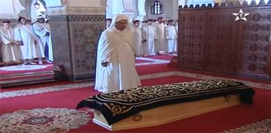 مراسيم تشييع جنازة الأميرة للاعائشة