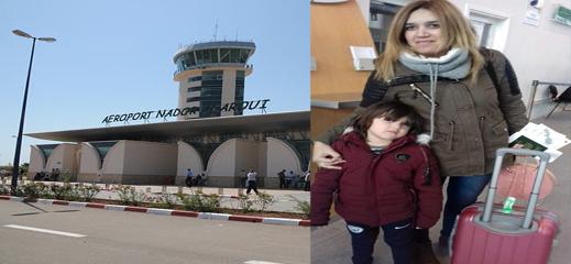"""شرطة مطار الناظور تمنع الناشطة في """"حراك الحسيمة"""" نوال بنعيسى من مغادرة التراب الوطني"""