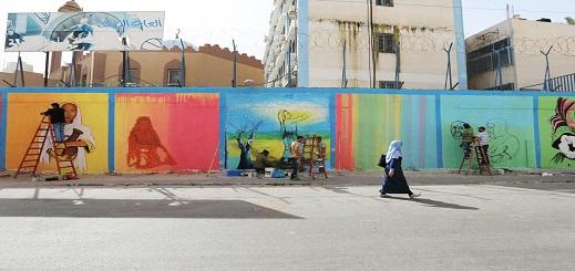 نشطاء يدعون إلى تزيين الأسوار المهملة وسط الناظور بجداريات حائطية عملاقة لإعادة الروح إلى المدينة
