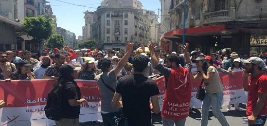 """أطاك المغرب تعلن مشاركتها في مسيرة """"الأحد"""" تضامنا مع معتقلي حراك الريف"""