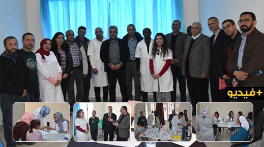بإشراف من أطباء مغاربة وأجانب.. حوالي 1000 مستفيد من قافلة جمعية أغبال للكشف المبكر عن السرطان بميضار