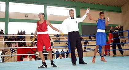 ثلاثة ملاكمين من الناظور يحصلون على ذهبيتين و فضية واحدة في بطولة المغرب