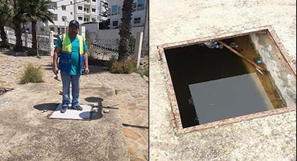 """جماعة الحسيمة تتدخل لإصلاح مدخل حديقة """"ألمونيكار"""" بعد إثارة المشكل إعلاميا"""