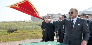 جلالة الملك يعطي انطلاقة إنجاز منتزه للطيور ببحيرة مارشيكا (الناضور) بكلفة 70 مليون درهم