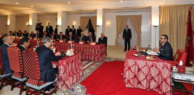 جلالة الملك يترأس مجلسا للوزراء بالناظور