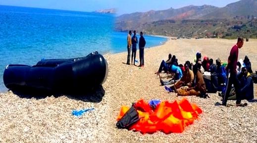 الدريوش.. توقيف أزيد من 60 مهاجرا سرياً بسواحل تمسمان