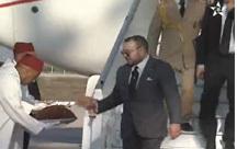 الملك محمد السادس يحل بمدينة الحسيمة