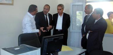 رئيس المجلس الإداري للتعاضدية العامة لموظفي الإدارات العامة بالمغرب يفتتح مكتبا جديدا لهذه الأخيرة  بزايو