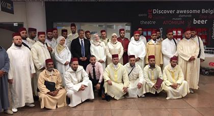 مؤسسة تجمع مسلمي بلجيكا تستقبل بعثة وزارة الأوقاف و الشؤون الإسلامية لإحياء شهر رمضان المعظم