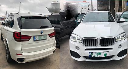 بالصور.. توقيف بلجيكي يقود سيارة فاخرة بمدينة مليلية مسروقة من بلجيكا