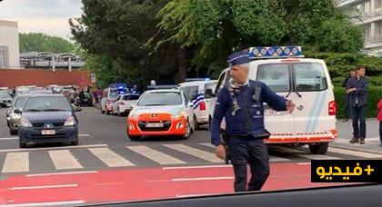 بالفيديو.. الشرطة البلجيكية تغلق 3 مراكز تجارية في بروكسل بسبب طرود مشبوهة