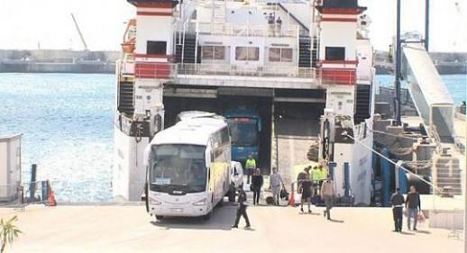 اسبانيا تمنع الحافلات المغربية من الدخول إلى اسبانيا