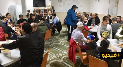 حفل إفطار جماعي بمسجد السلام بفرانكفورت