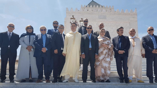 القيادة الجديدة لحزب العهد بقيادة الفتاحي تخلد ذكرى وفاة الملك محمد الخامس