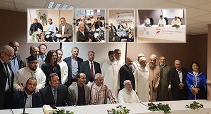 معهد جسر الأمانة للدراسات الإسلامية و فدرالية مساجد فلاندر ينظمان حفل إفطار بأنفرس